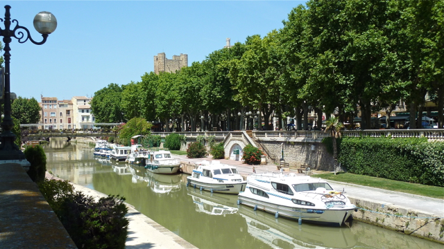 City centre of Narbonne, Aude, France. Photo: Andrew Cornwell. All rights reserved.