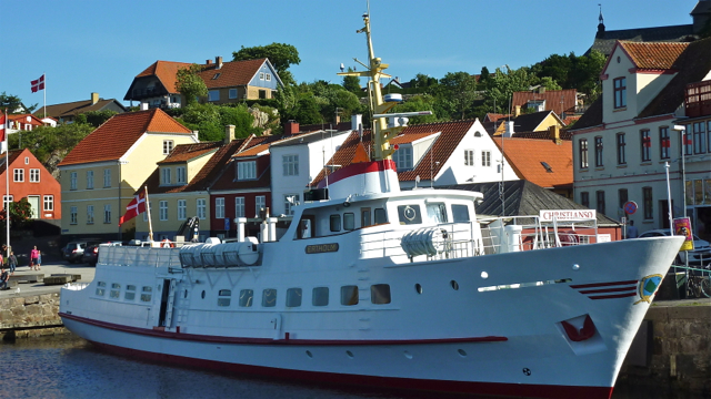 Ferry on Bornholm island, Denmark. Photo: Andrew Cornwell. All rights reserved.