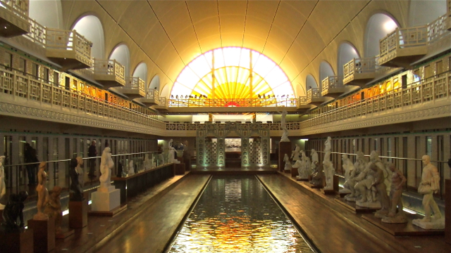 Musée de la Piscine, Roubaix, Nord, France. Photo: Andrew Cornwell. All rights reserved.