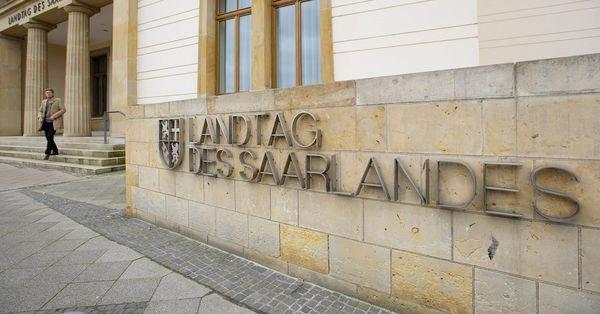 Saarland Landtag, Saarbrueken, Germany.