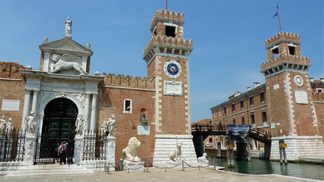 Arsenale di Venezia, Veneto, Italy. Photo: Andrew Cornwell. All rights reserved.